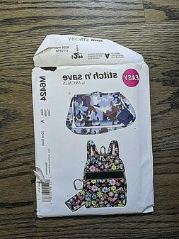 Tote Bag Patterns - McCall's Fashion Accessories - New, Uncu