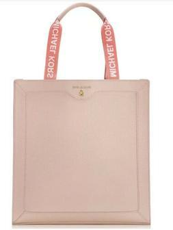 MICHAEL KORS Tote Bag Pink Large Purse  Blush Coral Carryon