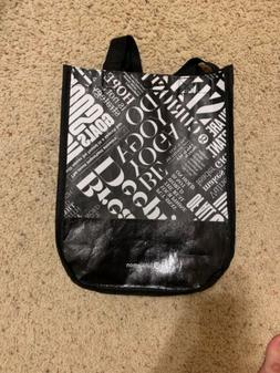 Lululemon Tote Bag Reusable Lunch Small Shopping Bag Black W