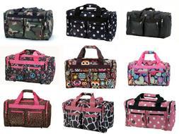 TOTE Bag Double Wheels Travel Luggage Duffle Handbag Bags Ha