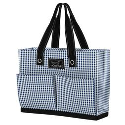 Scout Tote Bag w/Pockets Uptown Girl Brooklyn Checkham 16 x
