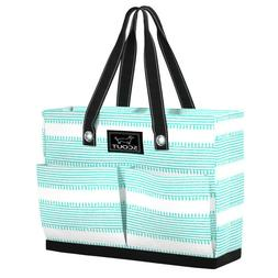 tote bag w pockets uptown girl can