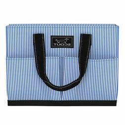Scout Tote Bag w/Pockets Uptown Girl Choo Choo Blue 12079