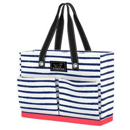tote bag w pockets uptown girl ship