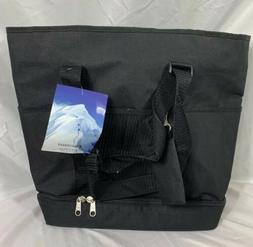 Tote Bag Everest Women's Deluxe Shopping Tote 1002DLX Black