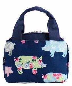 NGIL TOTE - Insulated Lunch Bag - Farmhouse Pigs - Farm