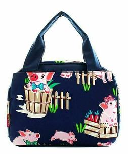 NGIL TOTE - Insulated Lunch Bag - Happy Pigs - Farm