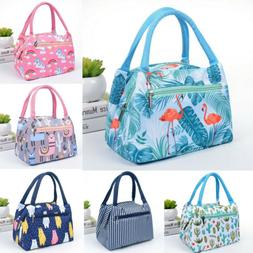 Tote Lunch Insulated Bags Travel Picnic Cooler Carry Portabl