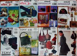 TOTE PURSE BAG KNIT SEWING MACHINE BAG Quilt Sew Pattern ~ U