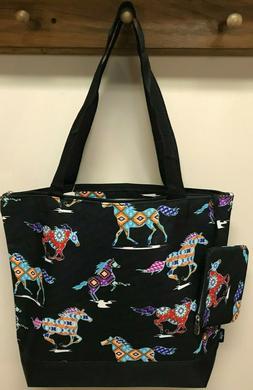NGIL TOTE - Tote Bag #821 - Santa Fe Stallion - Horse