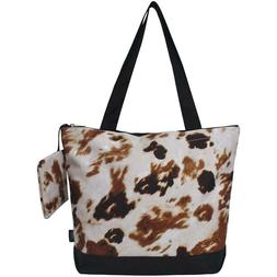 NGIL TOTE - Tote Bag #821 - Til The Cows Come Home - Cowhide