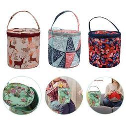 Tote Yarn Storage Bag Knitting Needle Bag Wool Yarn Crochet