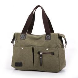 Travel Hot Canvas Bag Shoulder Bag Tote Purse Messenger Satc