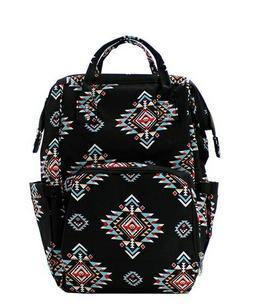 Tribal Aztec Serape NGIL Diaper Bag Backpack Free Ship! NEW