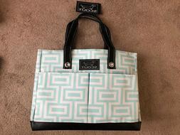 Scout Uptown Girl Multi-Pocket Tote Bag Water Resistant Zips