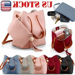 US Women New Handbag Shoulder Bags Tote Purse Leather Messen