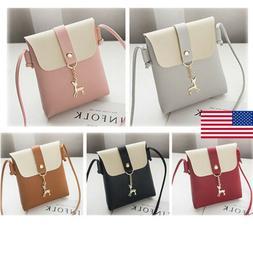 US Women's Bag Shoulder Messenger Bag Mobile Phone Bag Small