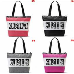Victoria s Secret Love Pink Collection Style zip Tote Bag- s