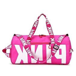victorias secret pink duffle bag tote vs