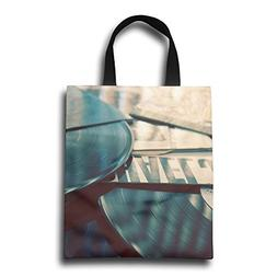 GWDNN Vinyl Record Awesome Reusable Shopping Bags -Extra Lar