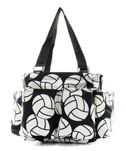 Vollyball Sports NGIL Small Zippered canvas purse Caddy Orga