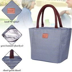 Waterproof Insulated Reusable Lunch Tote Bag for Women Insul
