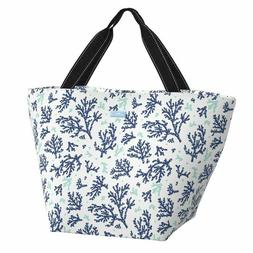 Scout Weekender tote bag Coral Lagerfeld Coral navy aqua cor
