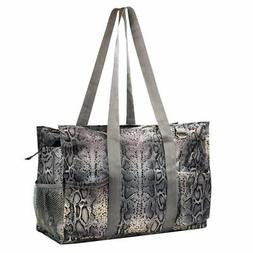 Wireframe Utility All Purpose Tote Bag for Shopping Travel L
