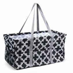 Wireframe Utility All Purpose Tote Bag for Shopping Picnicki