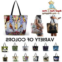 Womens Fab Beach Tote Bags Travel Shopping Handbag Gym Shoul