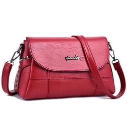 ToLFE Women Crossbody Bag Soft PU Leather Purses and Handbag
