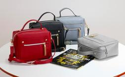 Women Handbag Black/Gray/Blue/Red Shoulder Messenger Bag Tot