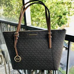Michael Kors Women Large Leather Shoulder Tote Bag Handbag S