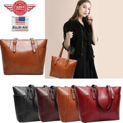 YOLANDO Women Leather Bags Handbag Shoulder Hobo Purse Messe