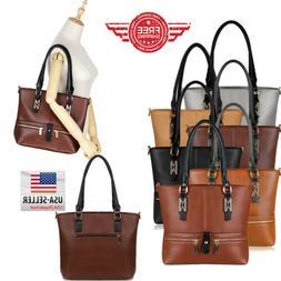 Women Leather Purses and Handbags Shoulder Hobo Messenger Cr