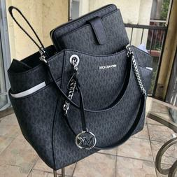 Michael Kors Women PVC Leather Purse Shoulder Tote Bag MK Ha