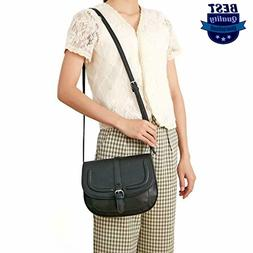 Forestfish Women's Crossbody Bags Saddle Purse Satchel Bag T