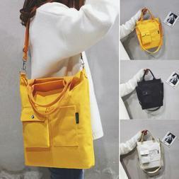 Women's Durable Large Canvas Handbag Shoulder Messenger Bag