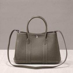 Women's Genuine Leather Luxury Designer Tote Bag Top Handle
