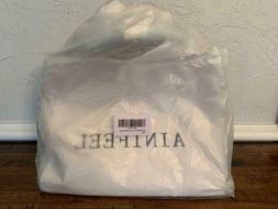Ainifeel Women's Genuine Leather Tote Bag Top Handle Handbag