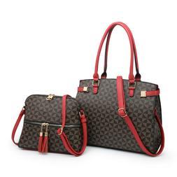 Women's Hobo Satchel Faux Leather Handbags Large Shoulder To