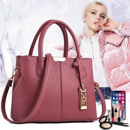 Women's Lady Handbag Shoulder Bags Tote Purse Leather Messen