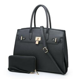 Women's Large Satchel Handbag Work Shoulder Tote Bag Purses