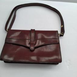 Women's Oiled Leather Handbag Lady Briefcase Tote Purse Shou