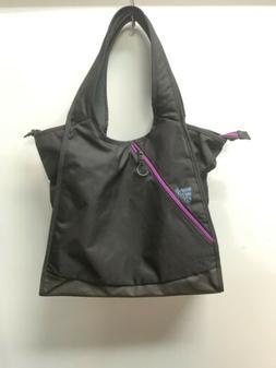 ADIDAS WOMEN'S PERFORMANCE CLUB TOTE BAG NWOT BLACK/PURPLE