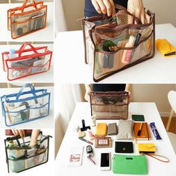 Women's PVC Clear Transparent Shoulder Bag Tote Jelly Candy