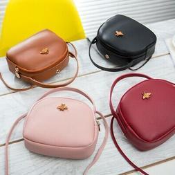 Women's Shoulder Bag PU Leather Crossbody Messenger Handbag