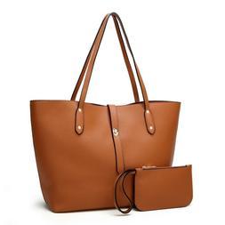 Women's Top Handle Handbags Tote Shoulder Bag Fashion Large