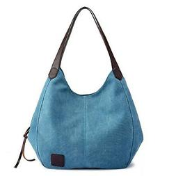 Sanxiner Women's Tote Bag Canvas Top Handle Bags Casual Trav
