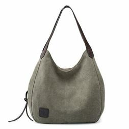 Sanxiner Women's Tote Bag Canvas Top Handle Bags Casual Trav